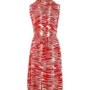 CAbi Style #281 brushstroke dress L NEW!